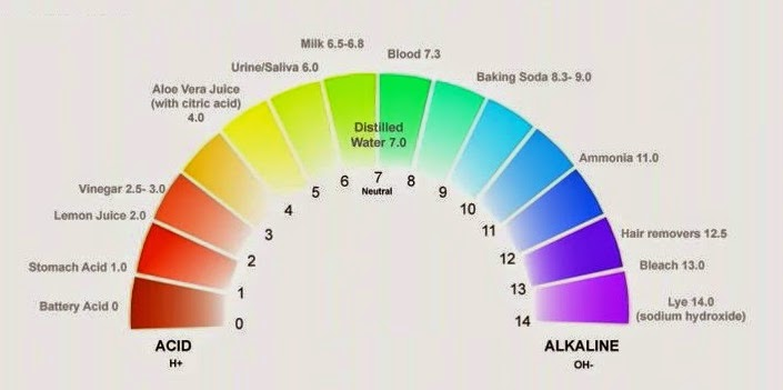 Image result for ph scale for hair