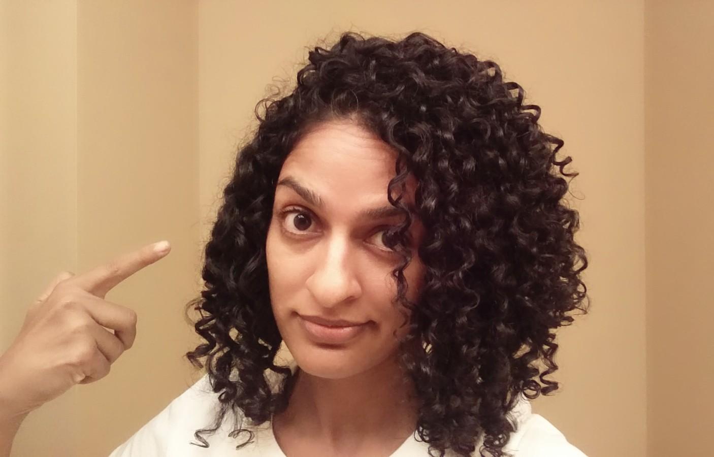 My Deva Cut Experience Right Ringlets