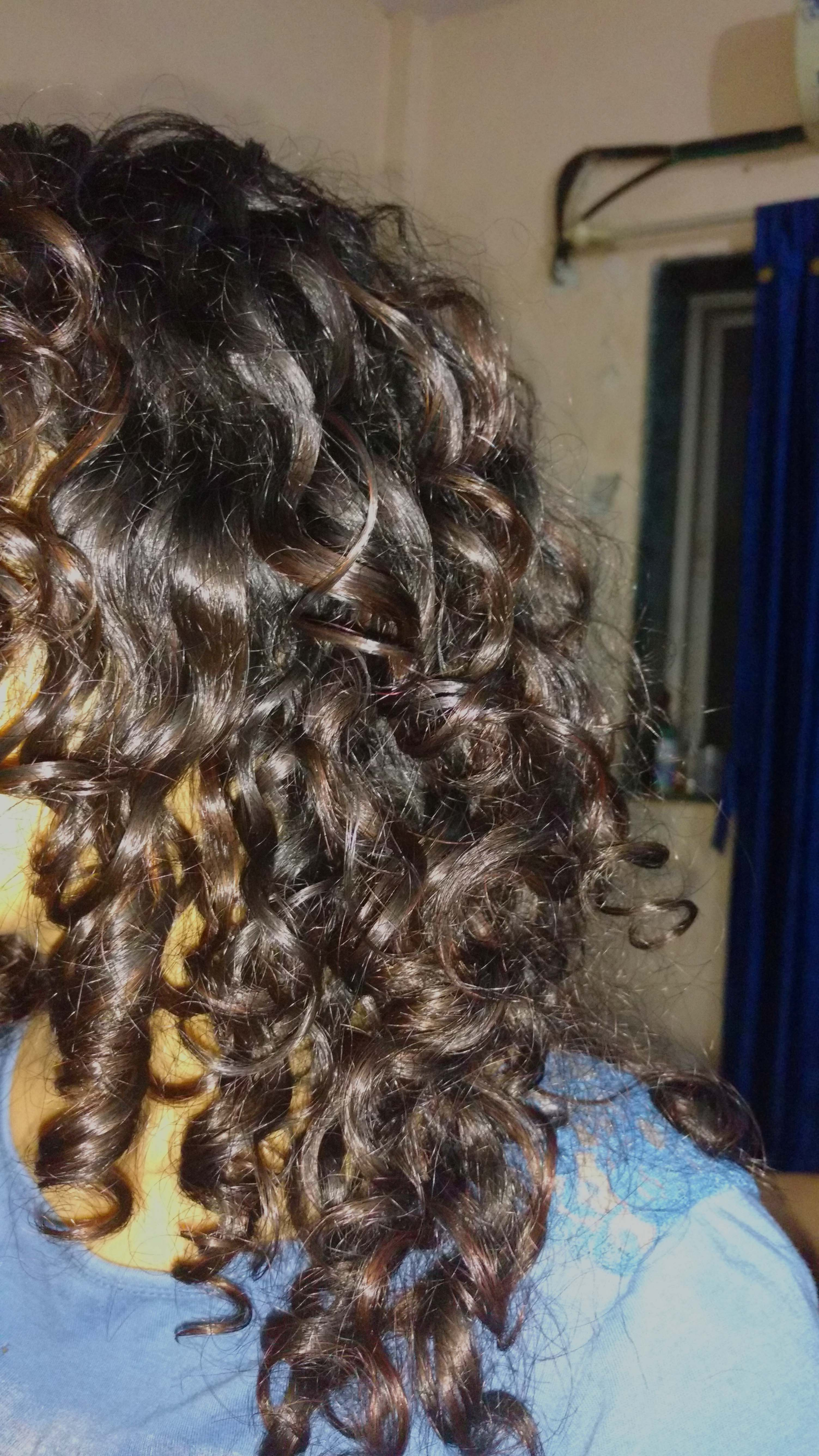 Kinky Curly Curling Custard Review Right Ringlets