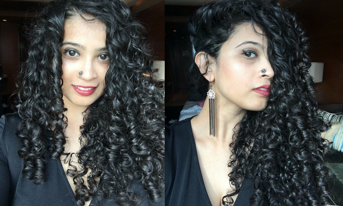 Wavy Hair Styling: Curly Hair Styling Routine By Pallavi Juneja (The Curious